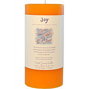 Joy - Crystal Journey Herbal 3X6 Pillar Candle