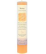 Crystal Journey Herbal Magic Pillar Candle - Mother