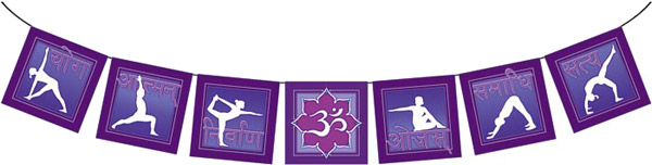 The Path of Yoga - 7 Purple Flags