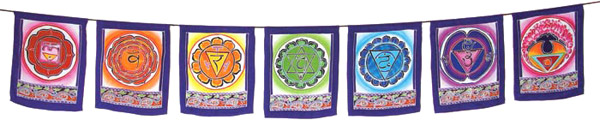 Chakra Flags - 7 Flags