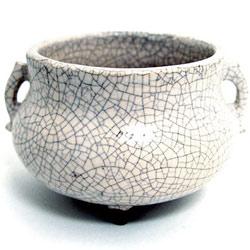 Moonlight Japanese Ceramic Bowl Burner With Censer Style