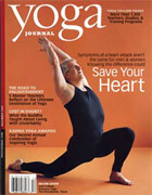 John Friend on cover of Yoga Journal