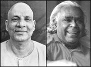 Swami Sivananda & Swami Vishnu-Devanand