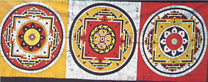 Three Mandalas