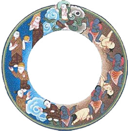 Wheel of life : enlightenment and ignorance