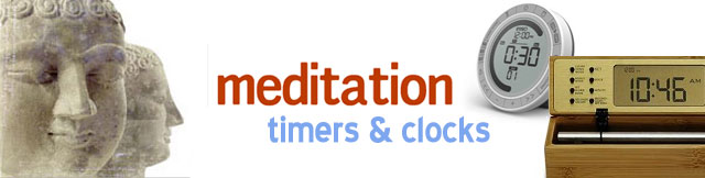 Meditation Timers and Clocks