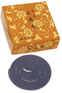 Shira-giku  - Excellentia incense - 14 Large Coils
