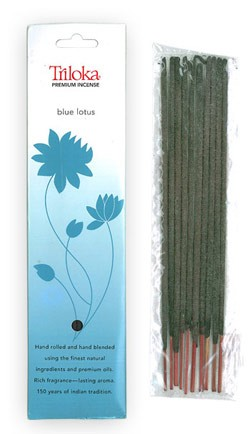 Blue Lotus - Triloka Premium Natural Herbal Incense