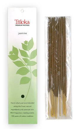 Jasmine - Triloka Premium Natural Herbal Incense