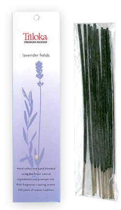 Lavender Fields - Triloka Premium Natural Herbal Incense