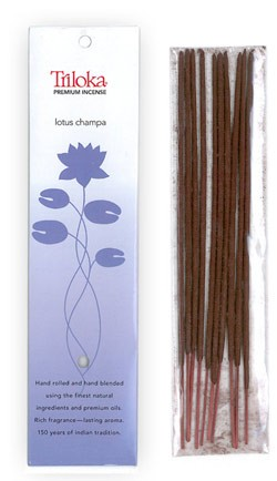 Lotus Champa - Triloka Premium Natural Herbal Incense
