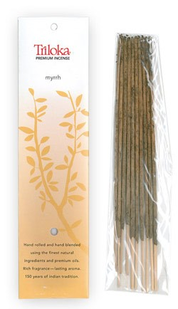 Myrrh - Triloka Premium Natural Herbal Incense