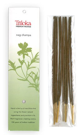 Nag Champa - Triloka Premium Natural Herbal Incense