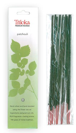 Patchouli - Triloka Premium Natural Herbal Incense