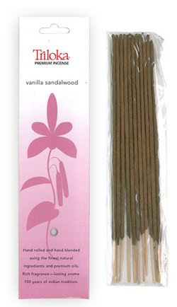 Vanilla Sandalwood - Triloka Premium Natural Herbal Incense