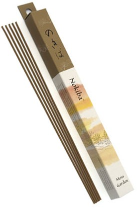 Shoyeido Daily Incense: Nokiba - Moss Garden - 35 Stick Box