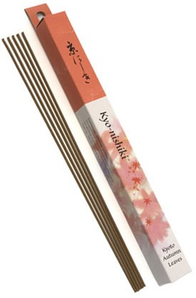 Shoyeido Daily Incense: Kyo-nishiki - Kyoto Autumn Leaves - 35 Stick Box