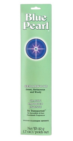 Blue Pearl Cedarwood Incense