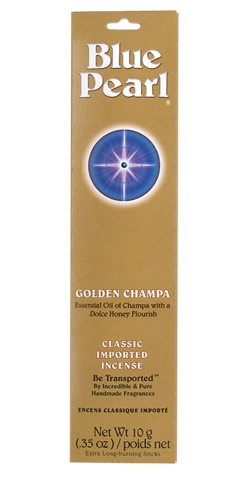 Blue Pearl Golden Champa Incense