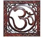 OM Symbol Wood Wall Hanging - 10