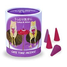 Cafe Time Incense - Enchanted Mood - Lotus & Wine
