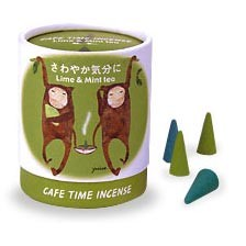 Cafe Time Incense - Refreshed Mood - Lime & Mint Tea