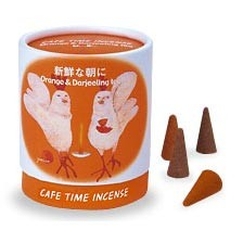 Cafe Time Incense - Fresh Morning - Orange & Darjeeling Tea