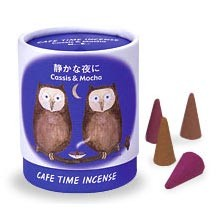 Cafe Time Incense - Quiet Evening - Cassis & Mocha