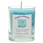 Angel's Influence - Crystal Journey Filled Glass Votive Candle