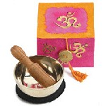 OM Meditation Bowl Box