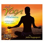 Daily Yoga Meditations 2012 Desk Calendar