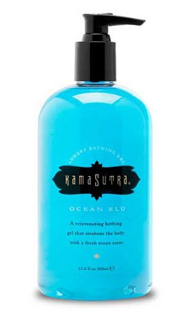 Kama Sutra Luxury Bathing Gels - Ocean Blu