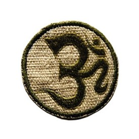 OM Hemp Embroidery Patch - 3""