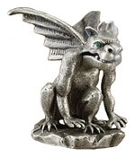 Cone Incense Burner - Gargoyle