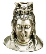 Cone Incense Burner - Shiva Bust