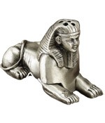 Cone Incense Burner - Sphynx Pewter