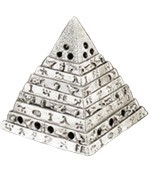 Cone Incense Burner - Egyptian Pyramid