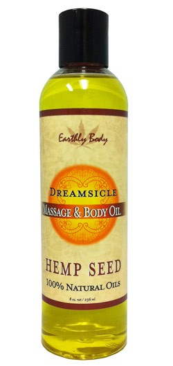 Dreamsicle (Tangerine Plum) Earthly Body Massage Oil - 8 oz.