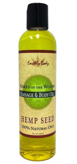 Naked in the Woods (White Tea & Ginger) Earthly Body Massage & Body Oil - 8 oz.