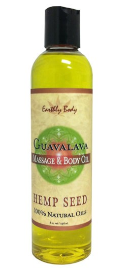 Guavalava (Blackberry & Guava) Earthly Body Massage & Body Oil - 8 oz.