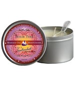 High Tide (Coconut, Lime & Verbena) Earthly Body 3-in-1 Suntouched Massage  Oil Candle