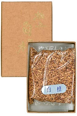 Baieido Byakudan Sandalwood Chips - Ceremonial Incense