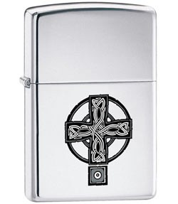 Zippo Classic Lighter - Celtic Cross