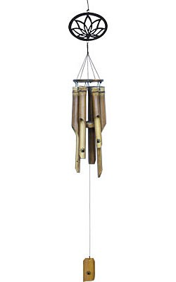 Lotus Bamboo Wind Chime