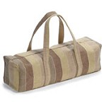 Hugger Mugger Simply Jute Mat Bag - Earth Brown