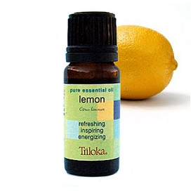 Lemon - Triloka Aromatherapy Essential Oil - 1/3 oz.