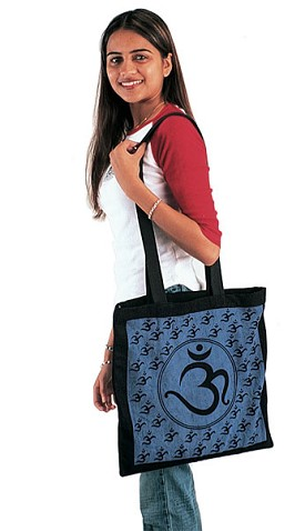Cottom OM Yoga/Shopping Tote