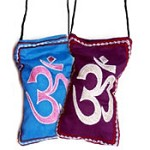Embroidered Om Cell Phone Bags