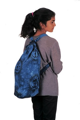 "Cottom OM Shoulder Bag Backpack - 10"" x 20"""
