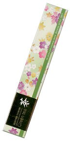 Baieido Green Tea Incense - Smokeless (Imagine Series) - 40 Stick + Holder